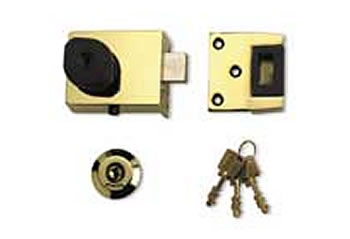 Twin Cylinder Automatic Deadlocking Nightlatch (High Security)